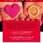 SABATO 27/05/2017 – PANORAMICA SULLA TRASMISSIONE DI HIV E ALTRE MTS IN SEDE ASA