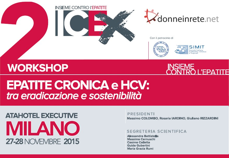WORKSHOP EPATITE CRONICA E HCV
